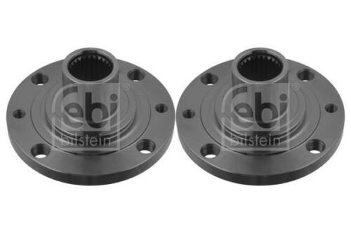 2x Wheel Hub Front//Right//Left for FIAT 500 1.3 1.4 900cc 07-on D 312 Febi