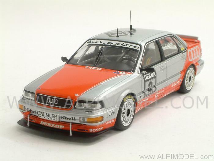 Audi V8 Quattro DTM 1992 Frank Jelinski 1 43 MINICHAMPS 400921402