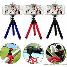 Black Universal Octopus Stand Tripod Mount Holder For iPhone Cell Phone Camera