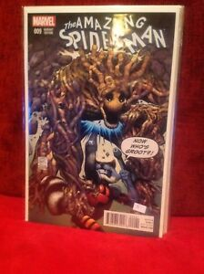 AMAZING-SPIDER-MAN-9-GROOT-VARIANT-EDITION-MARVEL-COMICS