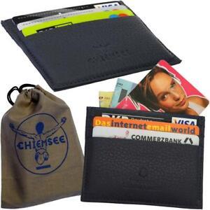 CHIEMSEE-Since-1982-Kartenetui-Handmade-Genuine-Leather-Karten-Mappe-Huelle-Case