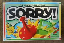 Parker Brothers Sorry 2005 Board Game Hasbro #00390 Gm648