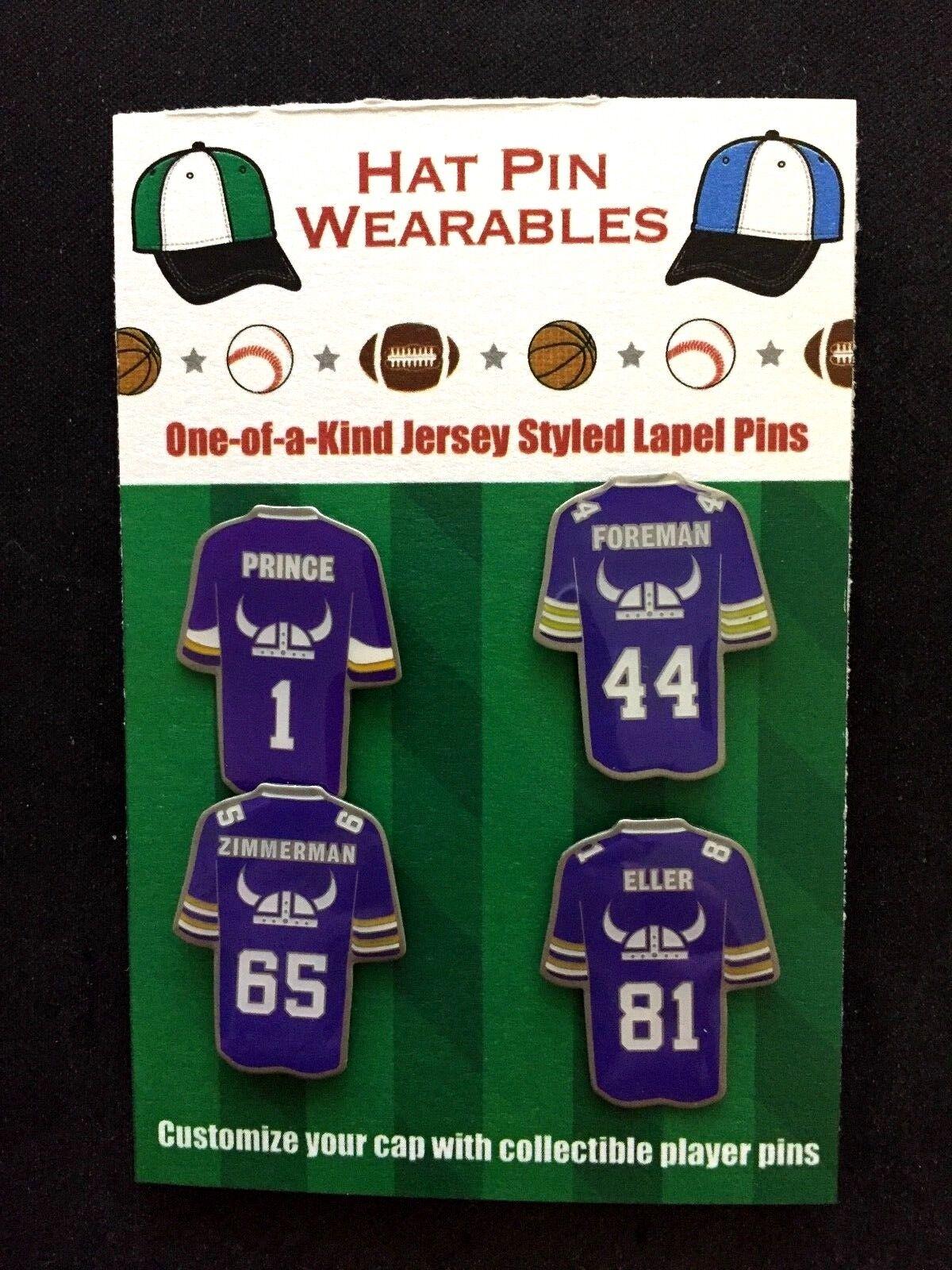Minnesota Wikinger Wikinger Wikinger Revers Pins 4 collectibles carl Eller   Special Prince-Skol  | Outlet Store  973b1f