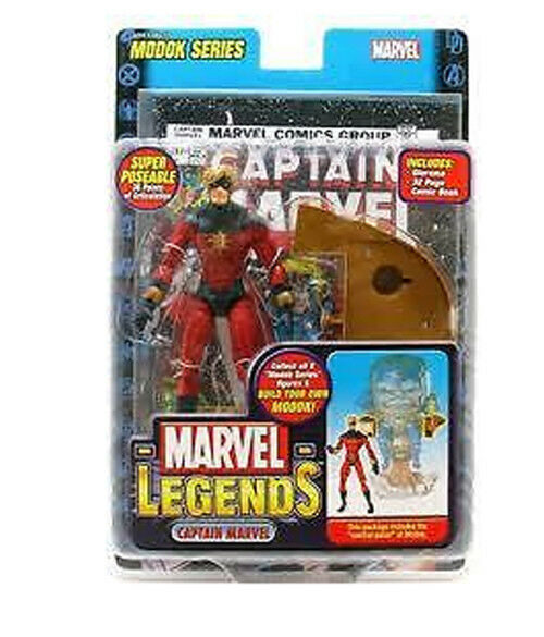 Marvel - legenden 15 modok welle captain marvel - klassiker.