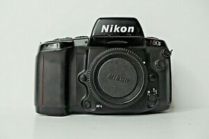 Nikon-N90S-35mm-SLR-Film-Camera-Body-Only-for-Parts-or-Repair-MD-25-Back