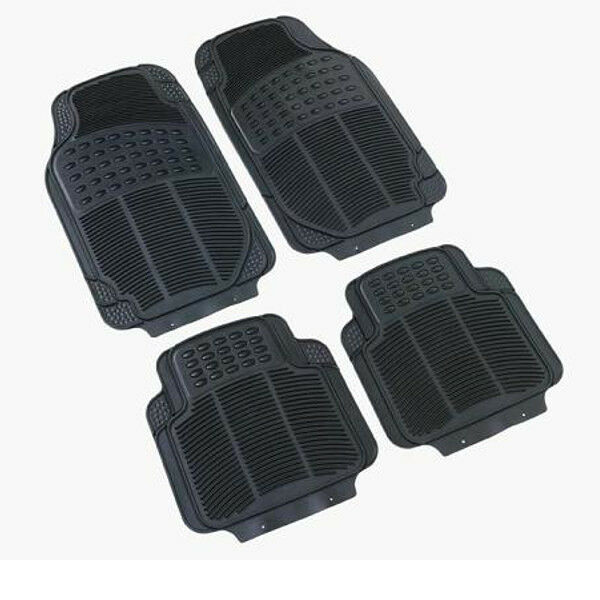 Rubber PVC Car Mats Heavy Duty Set fits Mitsubishi Lancer L200 Galant Carisma
