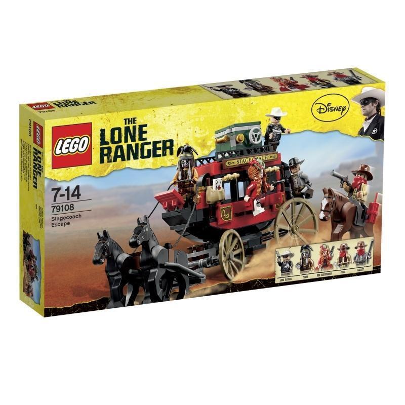 LEGO The Lone Ranger Flucht mit der Postkutsche (79108)