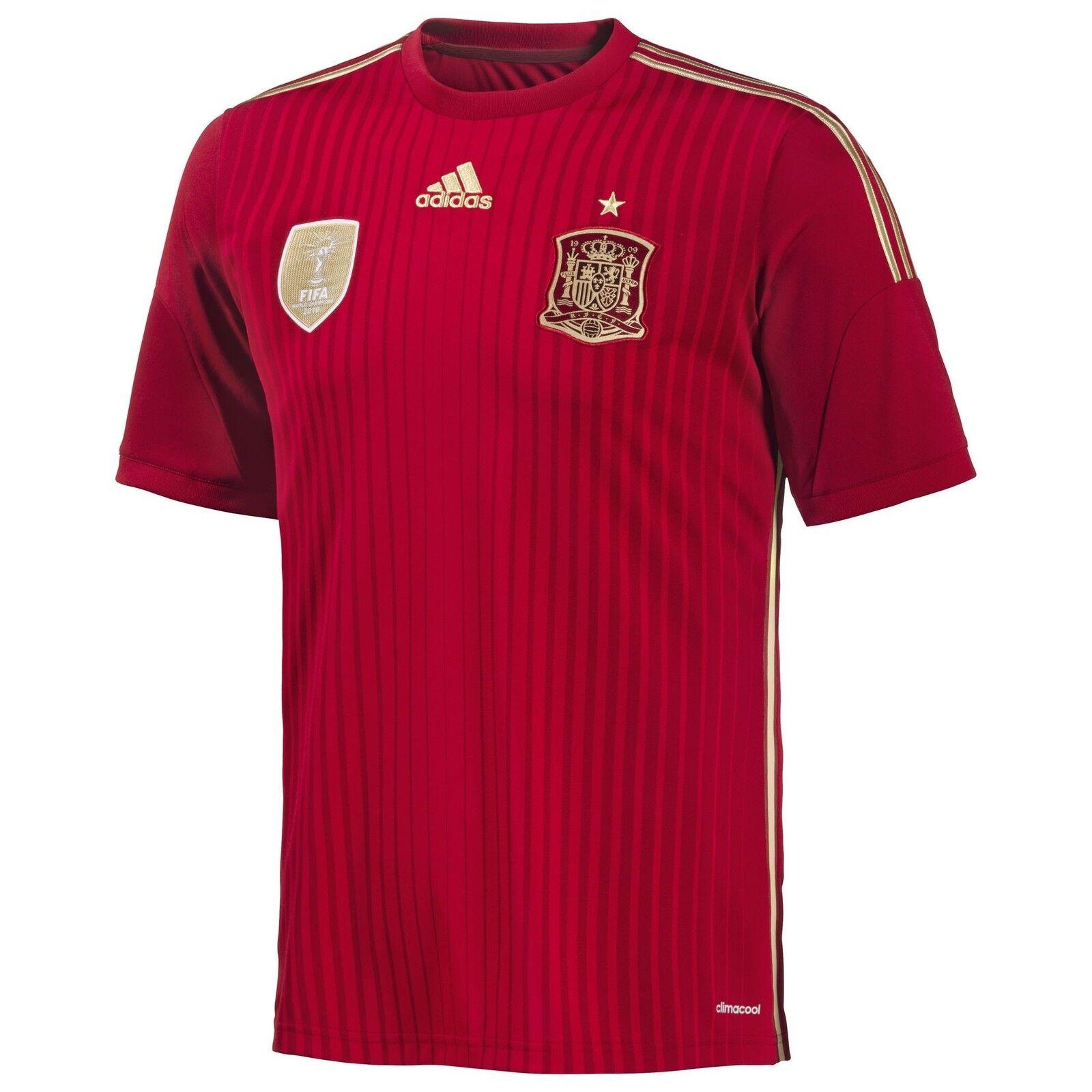 Spanien adidas Heim Trikot Home Jersey Spain Fußball España G85279 S-2XL neu --    | Ausgang
