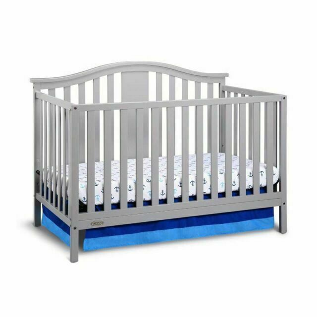 Graco Solano 4-in-1 Convertible Crib and Bonus Mattress, Mul