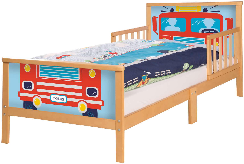 Roba Toddler LETTO letto per bambini bambini bambini Junior letto fuori caso prossoezione 70x140 cm legno b36b34