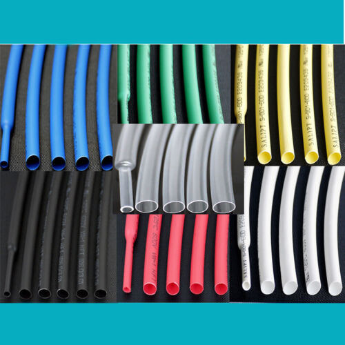 Details about  /2:1 HEATSHRINK TUBE TUBING CABLE SLEEVE SLEEVING HEAT SHRINK WRAP CABLE Φ2MM
