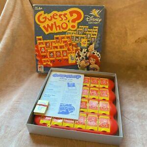Complete Guess Who? Disney Ed. Milton Bradley/Hasbro 2005 Board Game Nice Cond.