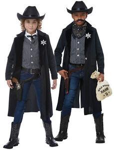 Caricamento dell immagine in corso California-Costumi-Wild-West -Sceriffo-Outlaw-Bambini-Costume- c01b8c54aa33