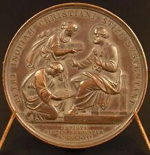 Médaille Papale Pape Pope Pie Pius IX Pont Max Petri Inopiam sc Voigt 1862 Medal