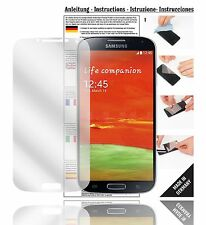 6x Displayschutzfolien für Samsung Galaxy S4 Schutzfolie Klar Folie Displayfolie