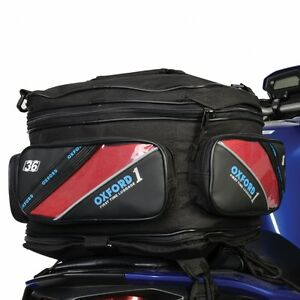 Oxford-1st-Time-Expander-Tail-Pack-Motorbike-Motorcycle-Luggage-Tail-Bag-36L
