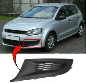 Front Right Fog Lamp Grill For VW POLO Typ 6R Hatchback 2010 2011 2012 2013 2014