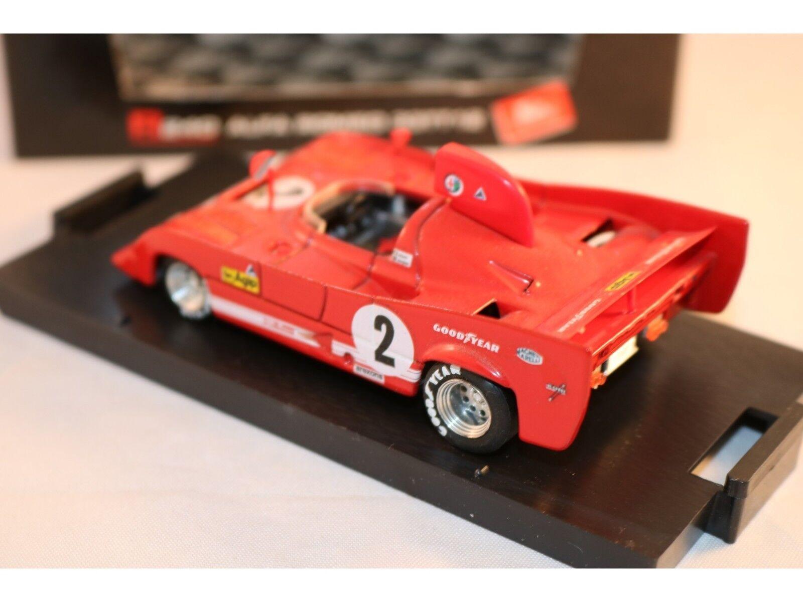BRUMM R 240 Alfa Alfa Alfa Romeo 33TT12 in mint condition 2d77cd