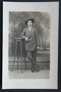 Postcard-Antique-CPA-Animated-Photo-Portait