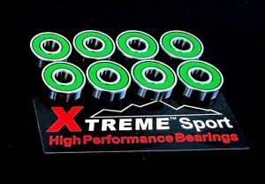 16-Confezione-608-Rs-Abec-11-Xtreme-Swiss-Verde-Alta-Performance-Skateboard