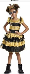 Details About New Lol Surprise Halloween Costume Queen Bee Deluxe Dress Girls Small 4 6x