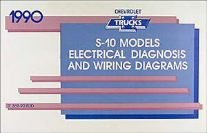 1990 Chevy S-10 Pickup and S10 Blazer Wiring Diagram ...
