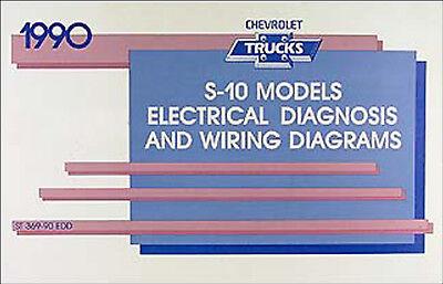 1990 chevy s 10 pickup s10 blazer schaltplan manuell. Black Bedroom Furniture Sets. Home Design Ideas