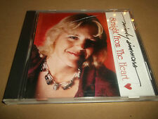 """MINDY SIMMONS """" STRAIGHT FROM THE HEART """" CD ALBUM FOLK EXCELLENT 1994"""