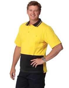 AIW SW61; High Visibility Safety Polo Shirt 100/% Polyester