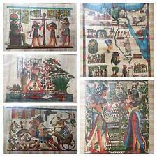 ",#244 Egyptian Egipto Ägypten Pharaonic,Papyrus Paint size 100x185 cm 36/""x74/"""