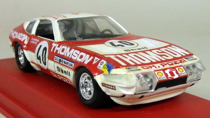 Verem 1 43 Scale - 409 Ferrari Daytona Thompson Race Diecast Model Car