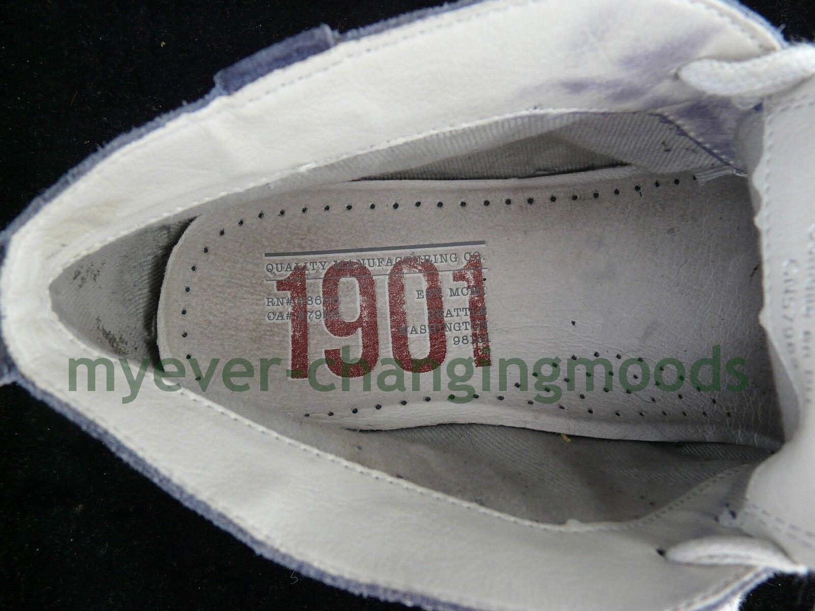 Nordstrom 1901 Blue Suede Chukka da uomo taglia alla EU 43 alla taglia caviglia a metà altezza Exclusiv 8e1ad6
