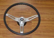 Comfort Grip Steering Wheel Kit Black Cushion 3 Spoke Camaro Chevelle Impala