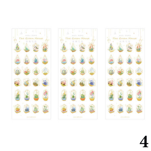1 sheet Constellation Planet Flower Diary Stamping Scrapbooking Filofax St Zccj