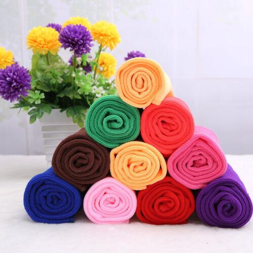 Absorbent Microfiber Fiber Soft Small Towels For Kids Child 30*30cm GIFT