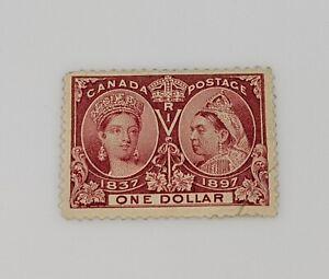 Stamp-Pickers-Canada-1897-Victoria-Diamond-Jubilee-1-Scott-61-NH-3600-Filler