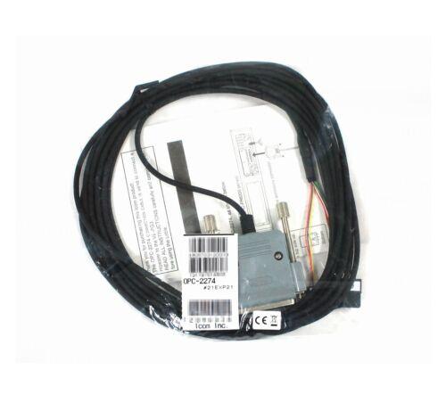 NEW ICOM OPC-2274 5m//16.4ft cable for the IC-FR5000//IC-FR6000 D-SUB for VE-PG3