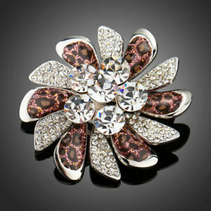 18K-GOLD-GP-Made-With-SWAROVSKI-ELEMENTS-CRYSTAL-BROOCHES