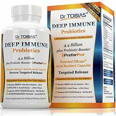 Plus Ultimate Prebiotic Dr Patented Tobias Deep Immune Probiotic