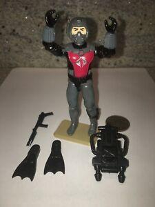 vtg-Cobra-Eels-frogman-w-flippers-backpack-jetpack-amp-harpoon-1985-GI-Joe