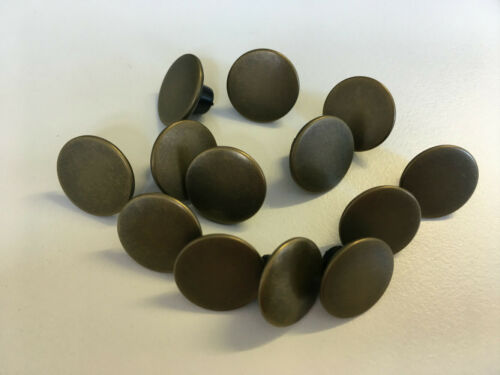 Gunmetal Ma... Wholesale Packs Of 100 x Hammer On Jeans//Denim Buttons Silver