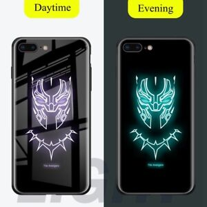 Batman-Superman-Tiger-Luminous-Tempered-Glass-Case-For-Apple-iPhone-Xs-Max-X-8-7