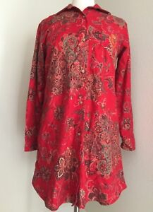 Novità Xs 8131328 Flannel Lauren Sleepshirt ~ Giftables Ralph Vacanza Red 6zzqI0x