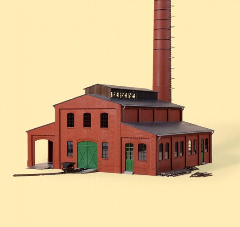 11431 Auhagen Ich Groß Fabrik mit Schornstein