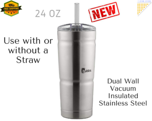 Coffee-Travel-Mug-Hot-Cold-Drink-Tea-Cup-Double-Insulated-Stainless-Steel-24-oz