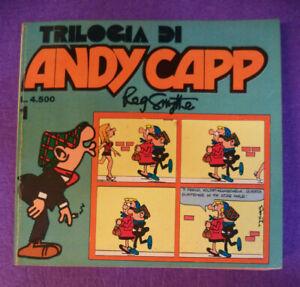 Fumetto-comics-TRILOGIA-DI-ANDY-CAPP-1-Reg-Smythe-1982-EDITORIALE-CORNO-L11