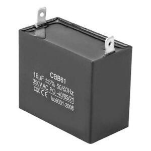 CBB61 24uF 350 V AC Small gasoline Generator 50//60Hz SH capacitor kz
