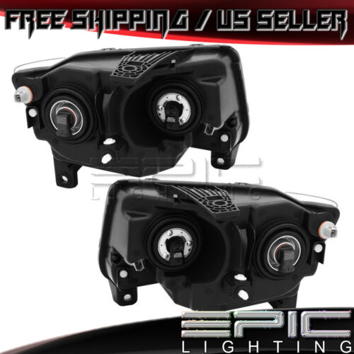Halogen Headlights for 2011-2013 JEEP GRAND CHEROKEE Left Right Sides Pair