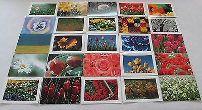 25 x Postkarten mit Blumen und Natur von Perleberg Maße: 17 cm x 12 cm NEU