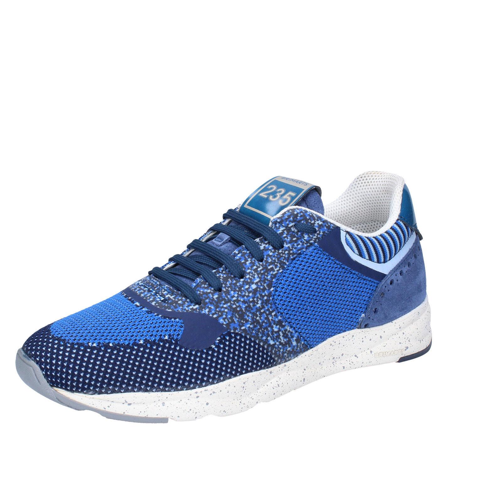 Scarpe uomo BRIMARTS 40 EU scarpe da ginnastica blu tessuto camoscio BT424-40